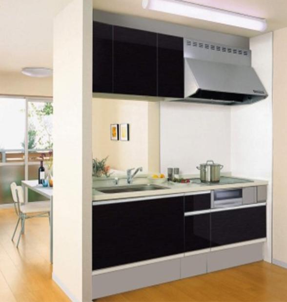 対面式キッチン(吊り戸有り)